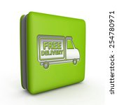 Free Delivery Square Icon On...