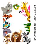 Funny Group Of Jungle Animals....