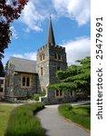 church in sunny day | Shutterstock . vector #25479691