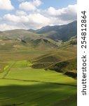 piano grande di castelluccio ... | Shutterstock . vector #254812864