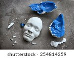 Plaster Face Mask Between...