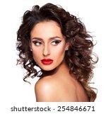 beautiful fashion women | Shutterstock . vector #254846671
