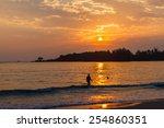 twilight sea | Shutterstock . vector #254860351