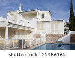 beautiful villa with pool  ... | Shutterstock . vector #25486165