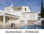 beautiful villa with pool  ... | Shutterstock . vector #25486165