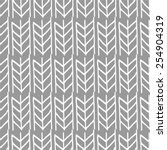 seamless weaving braids chevron | Shutterstock .eps vector #254904319