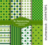 happy st. patrick's day  set of ...   Shutterstock .eps vector #254947891