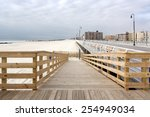 long beach boardwalk   long... | Shutterstock . vector #254949034