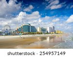 daytona beach  florida  usa... | Shutterstock . vector #254957149