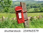 Mailbox In English Countryside...