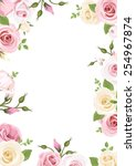 Vector Background With Pink An...
