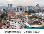 quito  ecuador   jan 1  2015 ... | Shutterstock . vector #255017569