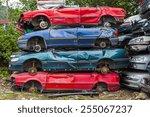 Dump Broken And Crashed Cars....