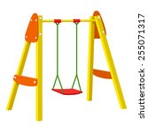 swing | Shutterstock .eps vector #255071317