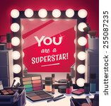 you are a superstar  vector... | Shutterstock .eps vector #255087235
