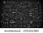 modern abstract background for... | Shutterstock .eps vector #255101584