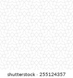 seamless linear pattern with... | Shutterstock .eps vector #255124357