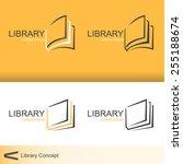 library   Shutterstock .eps vector #255188674