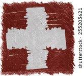 switzerland flag | Shutterstock .eps vector #255205621
