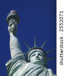 Detail of Statue of Liberty - stock photo