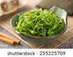 A Delicious Fresh Seaweed Salad.