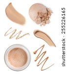 collection of various make up... | Shutterstock . vector #255226165