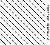 diagonal lines pattern... | Shutterstock .eps vector #255232081