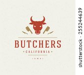 Butcher Shop Design Element In...