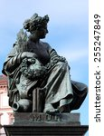 Small photo of GRAZ, AUSTRIA - JANUARY 10, 2015: Archduke Johann Fountain, allegorical representation of the river Mur, Hauptplatz square, Graz, Styria, Austria on January 10, 2015.