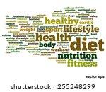vector concept or conceptual... | Shutterstock .eps vector #255248299