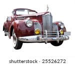 1941 Roadster Isolated With...