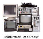 old  used and obsolete... | Shutterstock . vector #255276559
