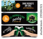 Saint Patricks Day Banners Or...