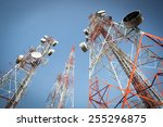 telecommunication mast tv...