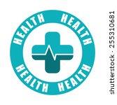 health care design  vector...   Shutterstock .eps vector #255310681