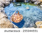 Eggs Boiling In Hot Spring ...