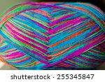 Ball Of Multicolor Yarn