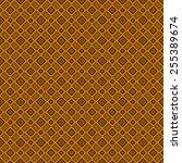 orange mosaic texture generated | Shutterstock . vector #255389674