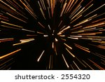 fireworks in zooming lights | Shutterstock . vector #2554320