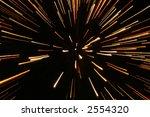 fireworks in zooming lights | Shutterstock . vector #2554320