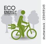 Ecology Design Over White...