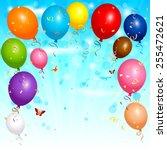 eps 10 vector illustration of... | Shutterstock .eps vector #255472621