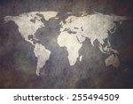 old world map | Shutterstock . vector #255494509