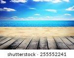 Sunny Summer Day On The Beach...