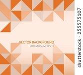 vector background.  orange...   Shutterstock .eps vector #255575107