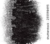 grunge background vector  | Shutterstock .eps vector #255598495