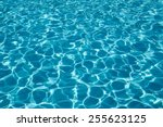 water in the pool background. | Shutterstock . vector #255623125