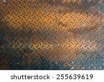 Rusted Aluminium Floor Texture...