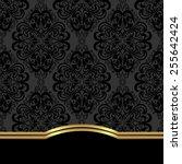 Elegant Ornate  Background Wit...