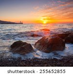Beautiful Seascape With...